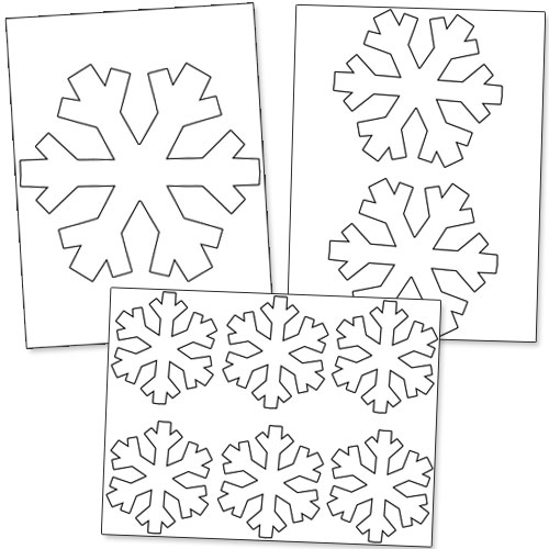 "Snowflake Calendar Printables : Search results for ""print out snowflakes calendar"