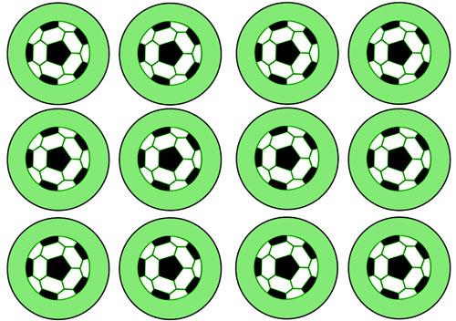 Printable Soccer Cupcake Toppers — Printable Treats.com
