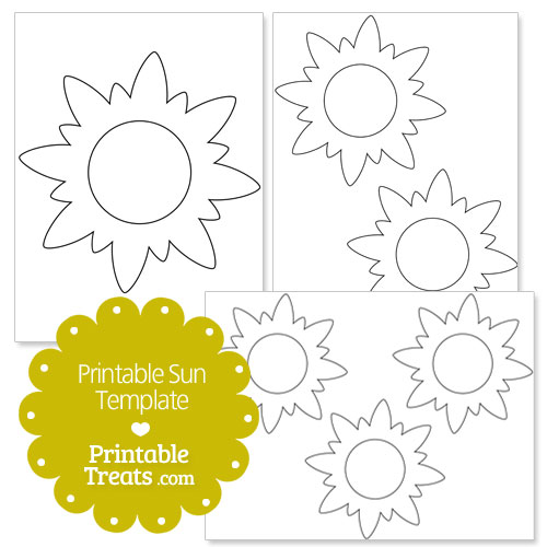 photo regarding Sun Stencil Printable identified as Printable Sunlight Template Printable