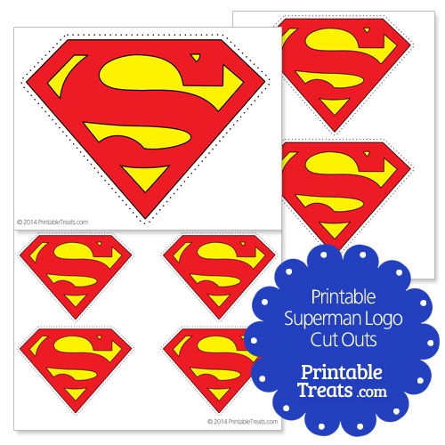 image relating to Free Printable Superman Logo identified as Printable Superman Emblem Lower Outs Printable