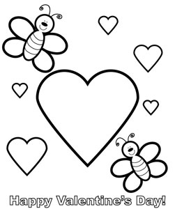 14 Valentines Day Printable Coloring Pages — Printable Treats.com