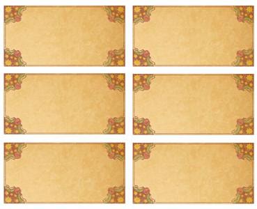 Printable Vintage Christmas Tags — Printable Treats.com