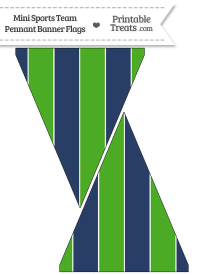 seahawks colors mini pennant banner flags printable. Black Bedroom Furniture Sets. Home Design Ideas