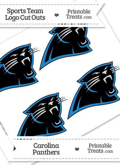 Exhilarating image intended for carolina panthers printable logo
