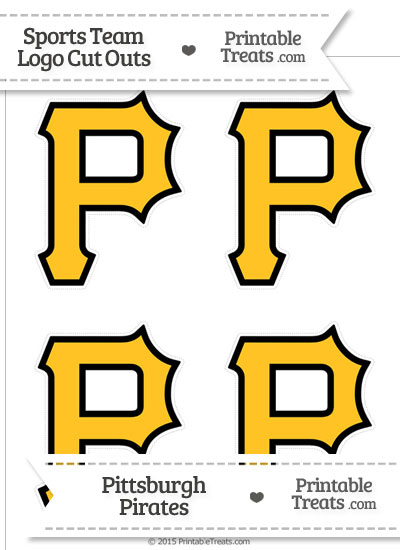 small pittsburgh pirates logo cut outs from pscarey pirate colouring pages - Pittsburgh Pirates Coloring Pages