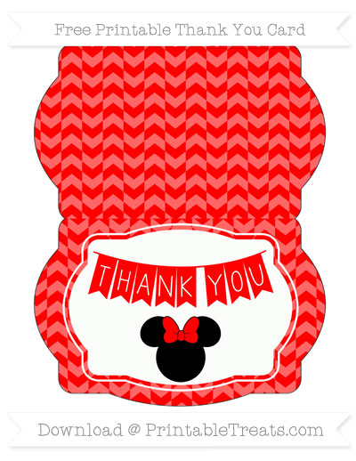 free printable minnie mouse thank you cards bire 1andwap com
