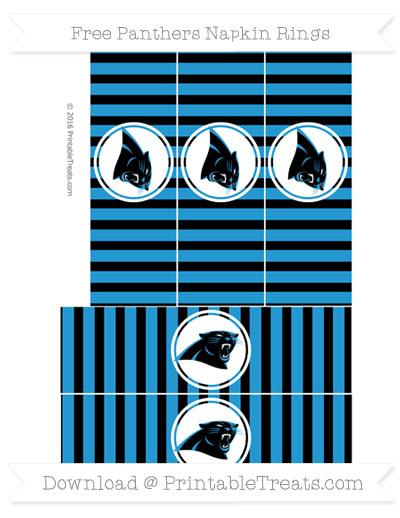 Panthers Napkin Rings