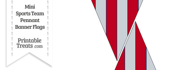 Angels Colors Mini Pennant Banner Flags