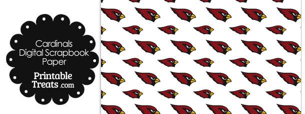 Arizona Cardinals Logo Digital Paper
