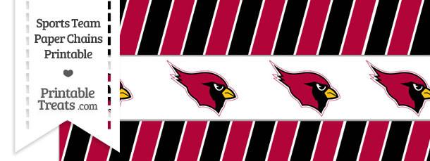Arizona Cardinals Paper Chains