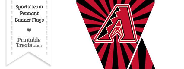 Arizona Diamondbacks Mini Pennant Banner Flags