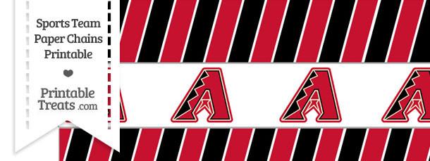 Arizona Diamondbacks Paper Chains