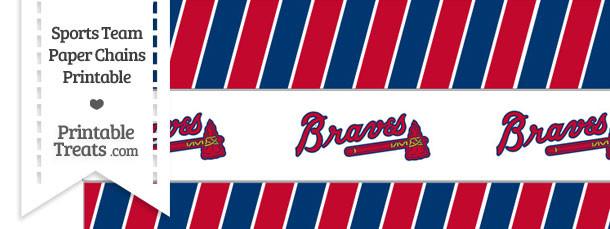 Atlanta Braves Paper Chains