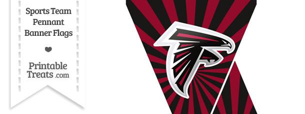 Atlanta Falcons Mini Pennant Banner Flags