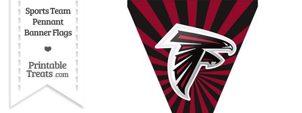 Atlanta Falcons Pennant Banner Flag