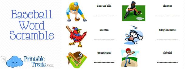 free-baseball-word-scramble