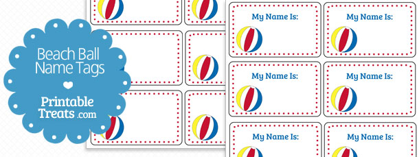 free-beach-ball-name-tags