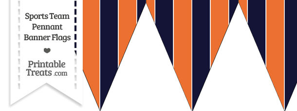 Bears Colors Pennant Banner Flag