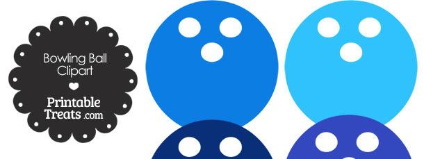 Blue Bowling Ball Clipart