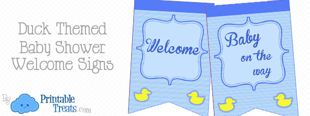 free-blue-duck-baby-shower-welcome-sign