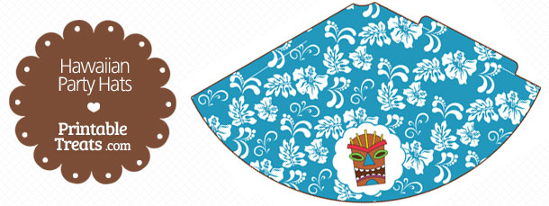 free-blue-hawaiian-party-hat-printable