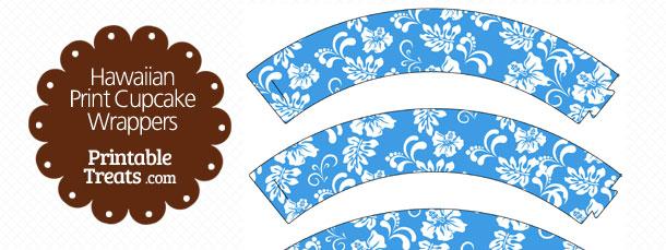 free-blue-hawaiian-print-cupcake-wrappers