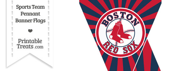 Boston Red Sox Mini Pennant Banner Flags
