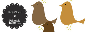 Brown Birdy Clipart