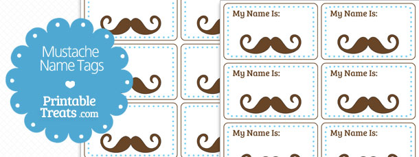 free-brown-mustache-name-tags
