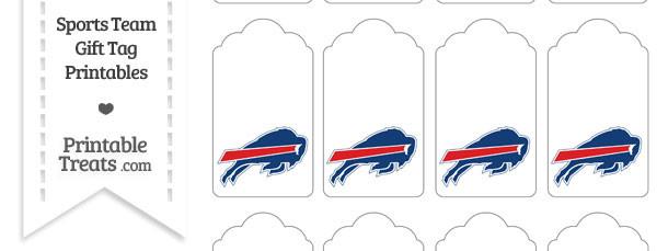 Buffalo Bills Gift Tags