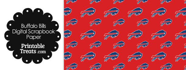 Buffalo Bills Logo Digital Paper