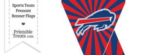 Buffalo Bills Mini Pennant Banner Flags