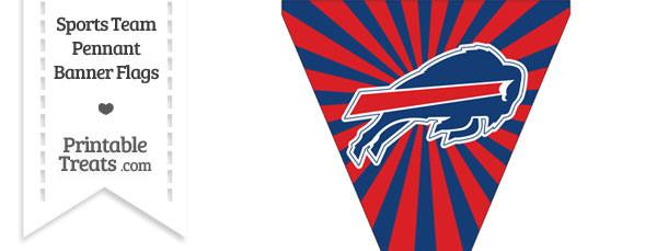 Buffalo Bills Pennant Banner Flag
