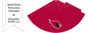 Cardinals Party Cone Printable