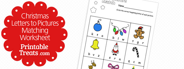 free-christmas-letters-to-pictures-matching-worksheet