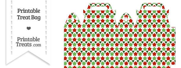 Christmas Stars Treat Bag