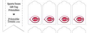 Cincinnati Reds Gift Tags