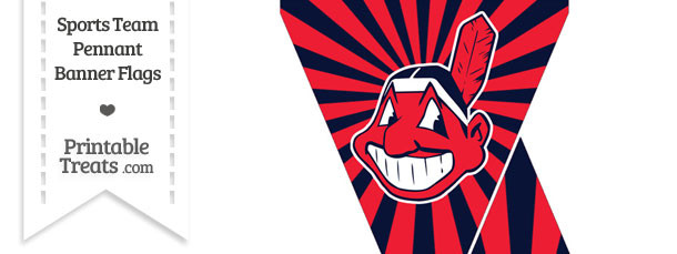 Cleveland Indians Mini Pennant Banner Flags