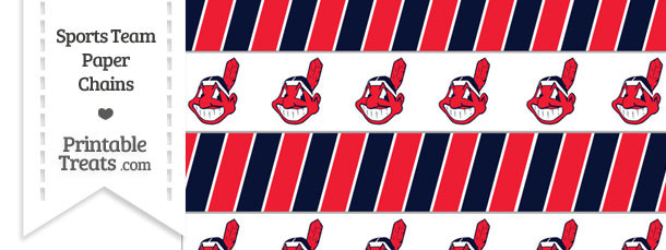 Cleveland Indians Paper Chains