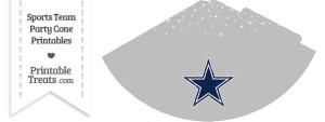 Cowboys Party Cone Printable