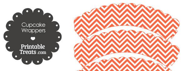 free-dark-orange-chevron-cupcake-wrappers
