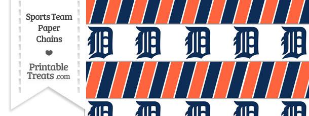 Detroit Tigers Paper Chains