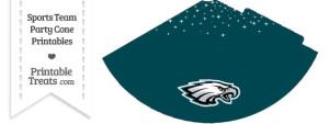 Eagles Party Cone Printable