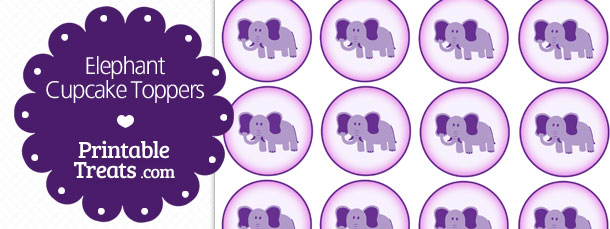 free-elephant-cupcake-toppers