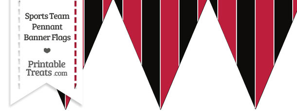 Falcons Colors Pennant Banner Flag