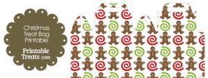 Free Gingerbread Cookie Treat Bag