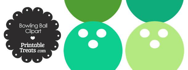 Green Bowling Ball Clipart