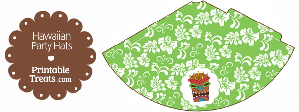 free-green-hawaiian-party-hat-printable