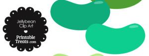 Green Jellybean Clipart
