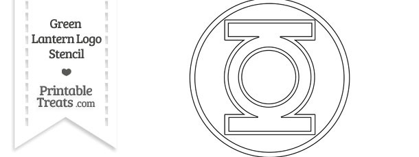 Green Lantern Logo Coloring Page | Coloring Pages